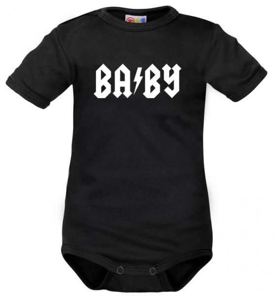 Body krátký rukáv Dejna Baby- černé, vel. 80, Velikost: 80 (9-12m)