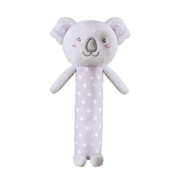 BabyOno Plyšová pískací hračka Koala Jules, 17 cm