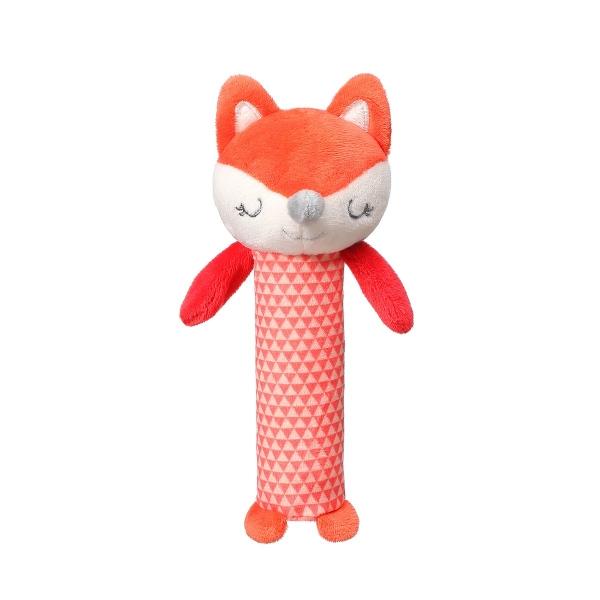 BabyOno Plyšová pískací hračka Fox Vncent, 17 cm