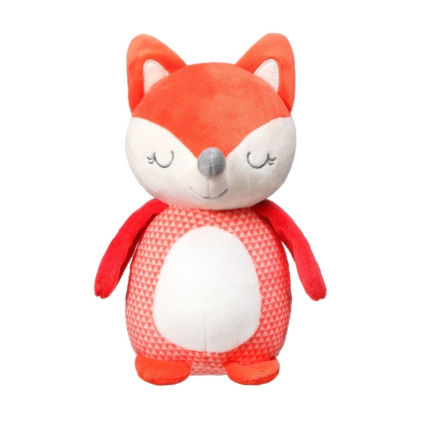 BabyOno Plyšová hračka s rolničkou - Fox Vincent