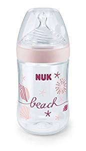 Láhev Nuk Nature Sense Beach - růžová
