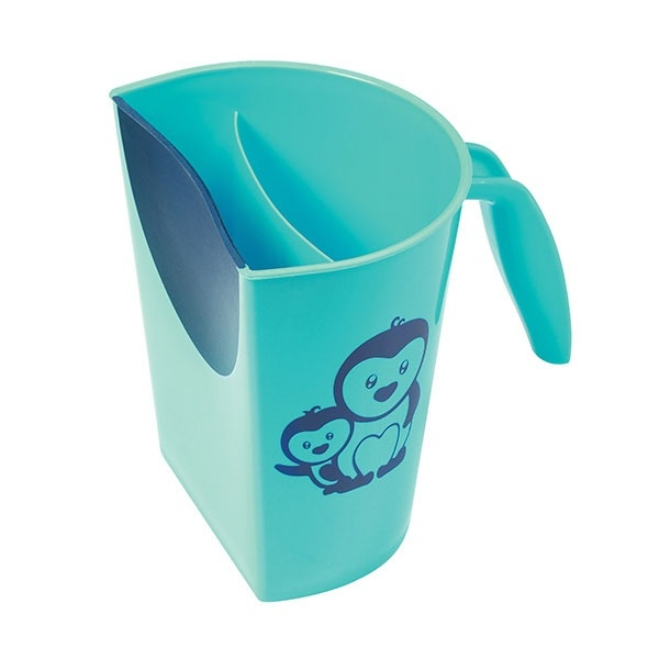 Hrníček ke koupání, mytí hlavičky BabyOno s obrázkem - modrý