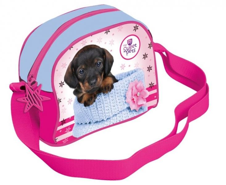 Taška přes rameno The Sweet Pets pes, 19 x 16 cm