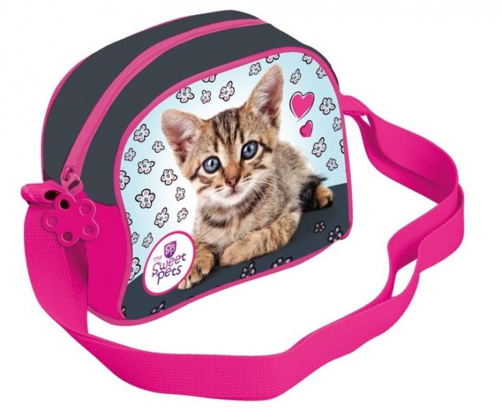 Taška přes rameno The Sweet Pets kočka, 19 x 16 cm