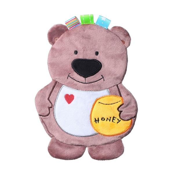 BabyOno Šustící mazlíček - Flat Bear Todd