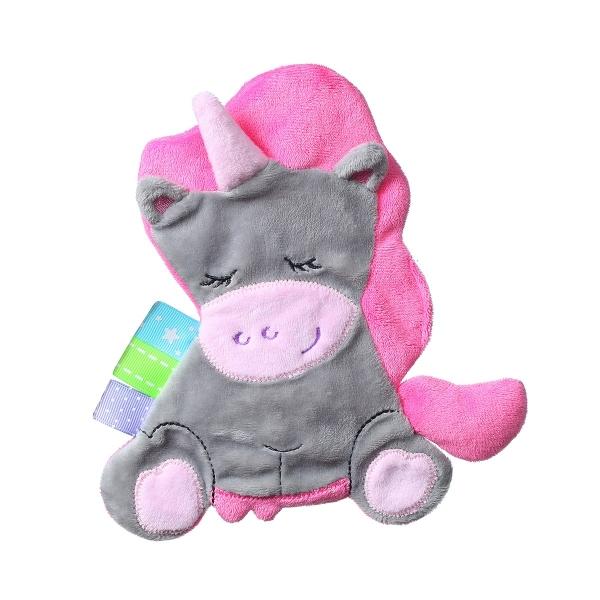 BabyOno Šustící mazlíček - Flat Unicorn Sweetie