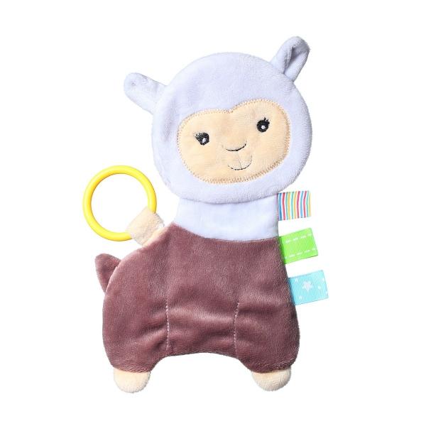 BabyOno Šustící mazlíček - Flat Alpaca Lilian