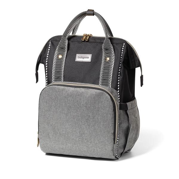 BabyOno Batoh, taška ke kočárku Oslo Style + přebalovací podložka zdarma- šedá