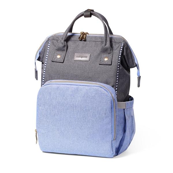 BabyOno Batoh, taška ke kočárku Oslo Style + přebalovací podložka zdarma- modrá
