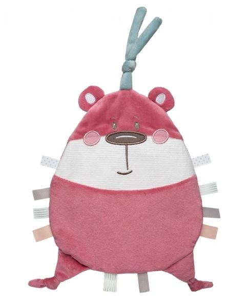 Canpol Babies Šustící mazlíček - Pastel Friends - růžový