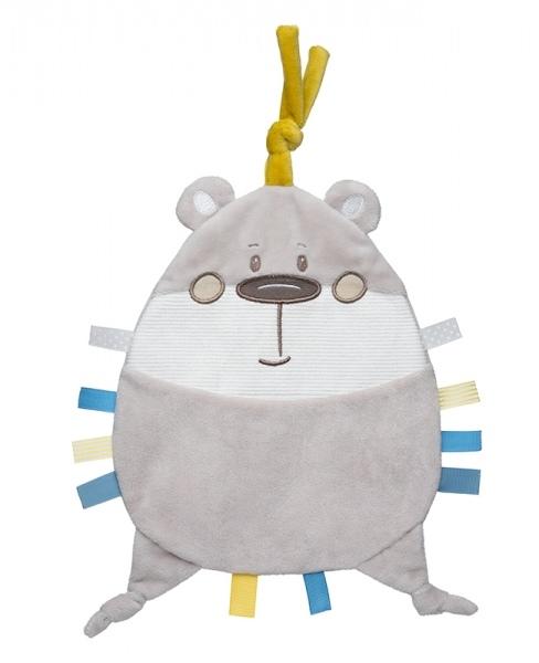 Canpol Babies Šustící mazlíček - Pastel Friends - šedý