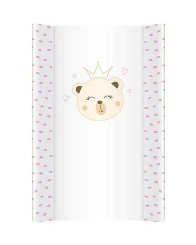 Klups, přebalovací podložka - měkká - na komodu - Medvídek Princezna N251