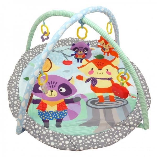 BABY MIX Vzdělávací hrací deka - Přátele