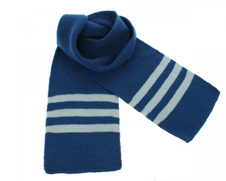 BABY NELLYS Dětská zimní, podzimní šála - jeans
