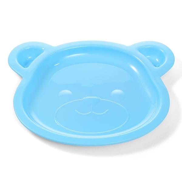 BabyOno Talířek Bear - modrý