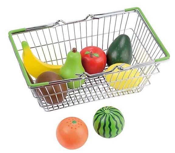 Lelin Nákupní košík s ovocem