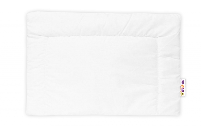 Samostatný polštářek 40 x 60 cm - bílý, Velikost: 135x90