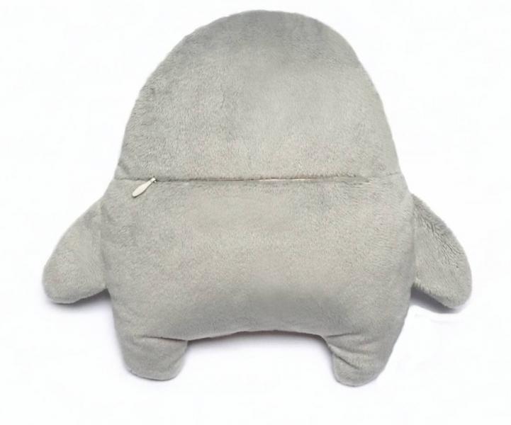 Šumivý mazlík SOVA Hushables  - šedý