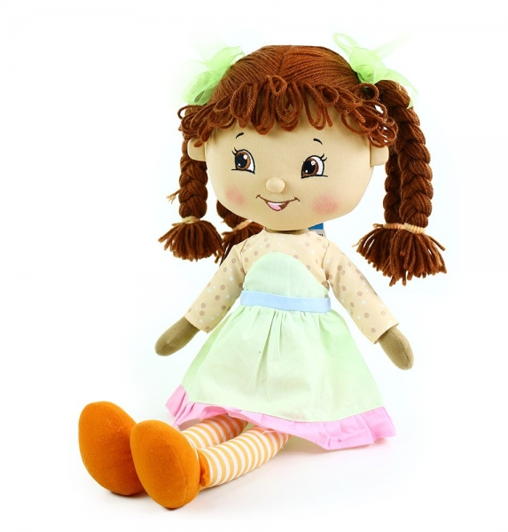 Hadrová panenka Maruška, 50 cm