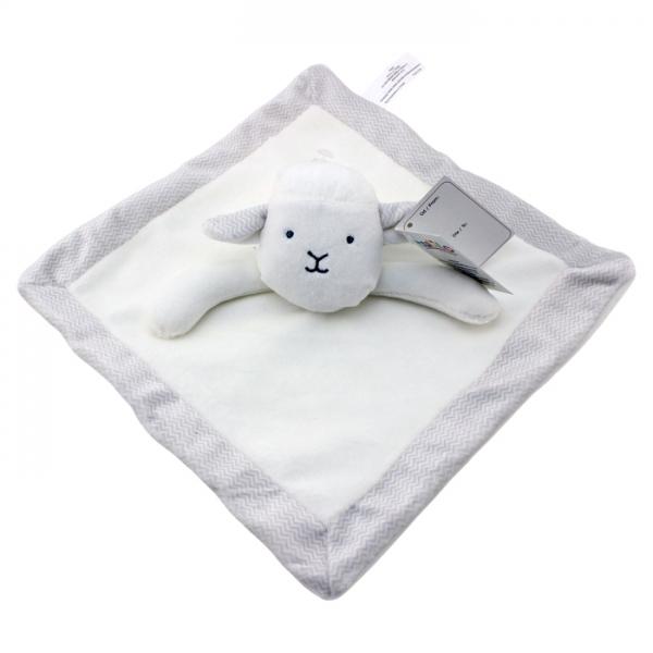 Přítulníček, mazlík Tulilo Ovečka, 25x25 cm - bílá