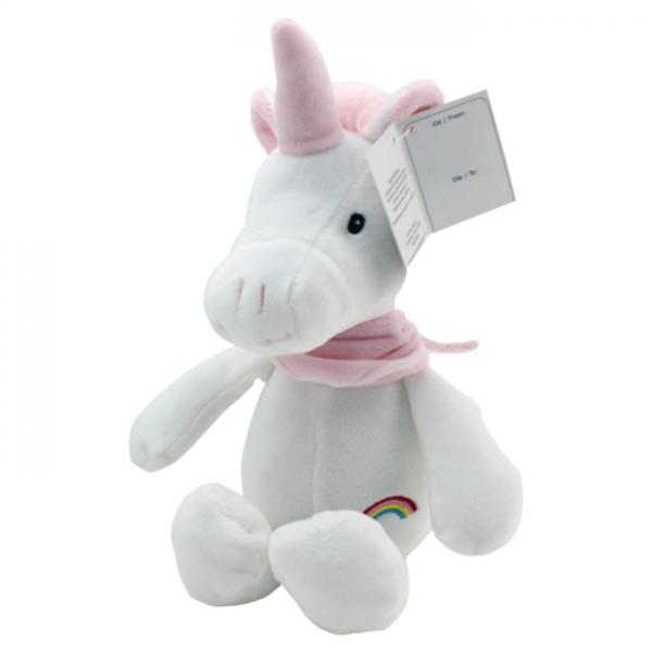 Plyšová hračka Tulilo Jednorožec, 20 cm - růžová