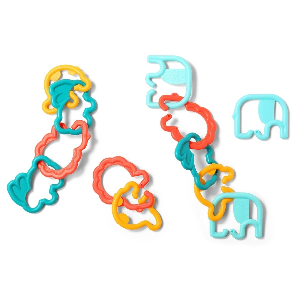 BabyOno Plastové tvary zvířátek 498 - různé barvy
