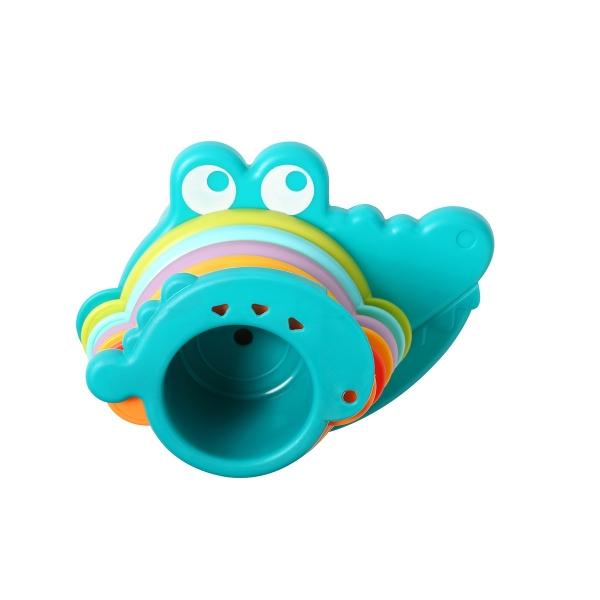 BabyOno Edukační hrníčky do vody Aligátor, kat. 885 - více barev