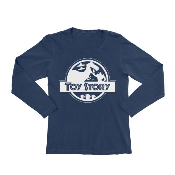 KIDSBEE Chlapecké bavlněné tričko Toy Story - granátové, vel. 146