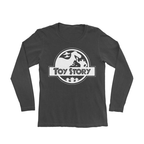 KIDSBEE Chlapecké bavlněné tričko Toy Story - černé, vel. 122