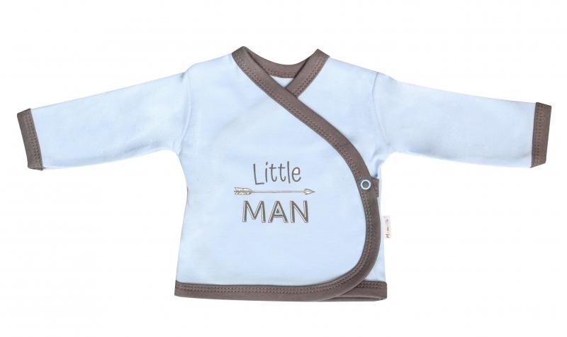 Mamatti Košilka Little Man - zapínání bokem, vel. 62