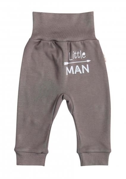 Mamatti Bavlněné tepláčky Little Man, vel. 74
