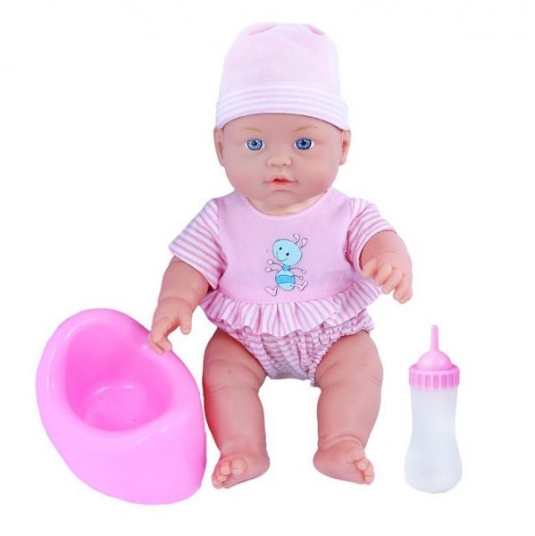 Panenka pije, čůrá a pláče, 30 cm