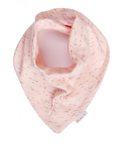Mamatti Dětský šátek na krk Cat, řůžová