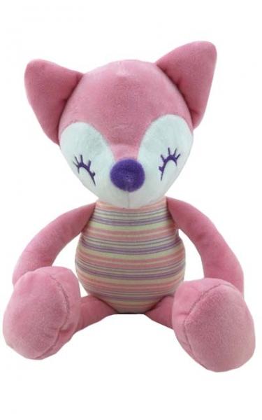Plyšová hračka Tulilo Liška Rajan, 23 cm - růžová