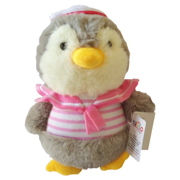 Plyšová hračka Tulilo Tučňák - růžová