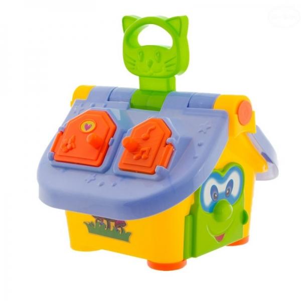 Euro Baby Interaktivní hračka Chytrý domeček