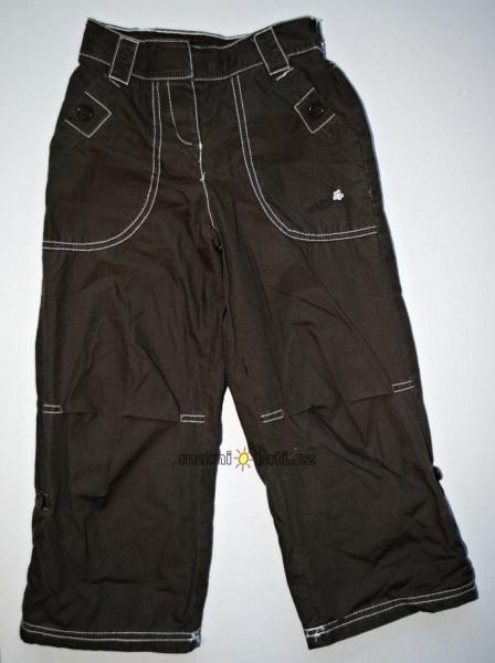 Krásné chlapecké kalhoty (Velikost: 6/7let, Barva: Hnědé)