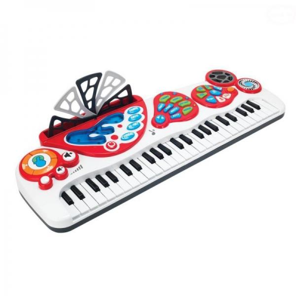Dětský keyboard s blikající klávesnicí