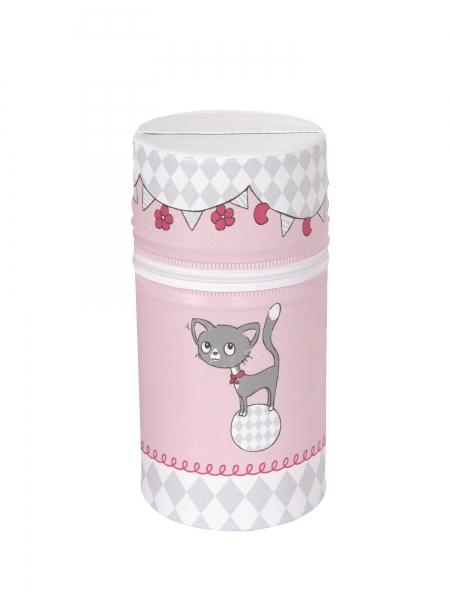 Termoobal/termobox Ceba Mini - Kočičky růžové