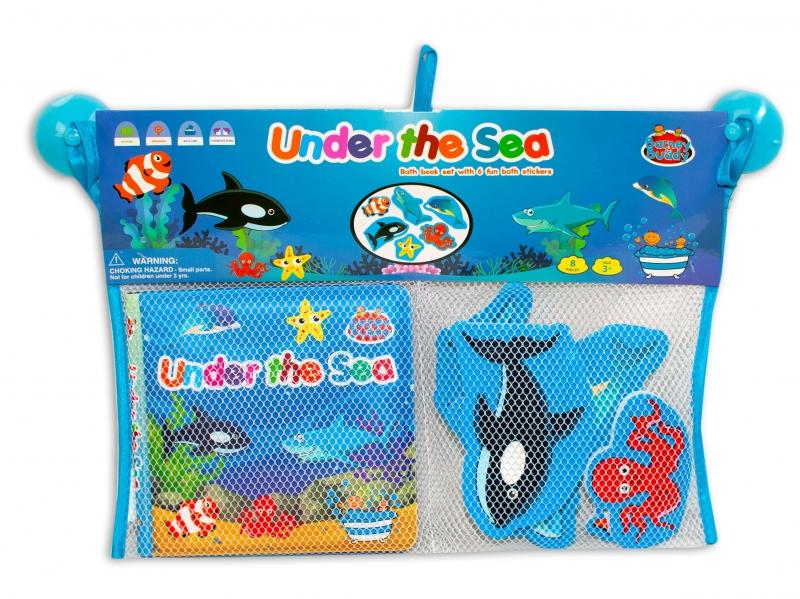 Barney&Buddy Vodolepky do koupele - Mořská zvířátka