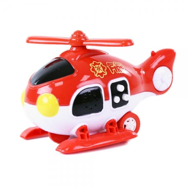 Helikoptéra hasiči se zvukem a světlem