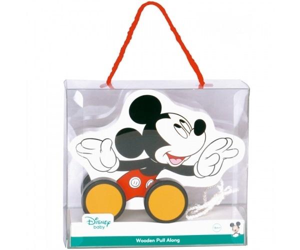 Dřevěná tahací hračka Disney - Mickey Mouse