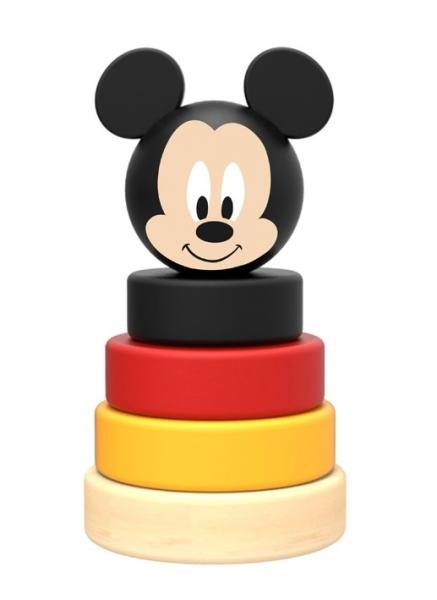 Dřevěná pyramida Disney skládačka - Mickey Mouse