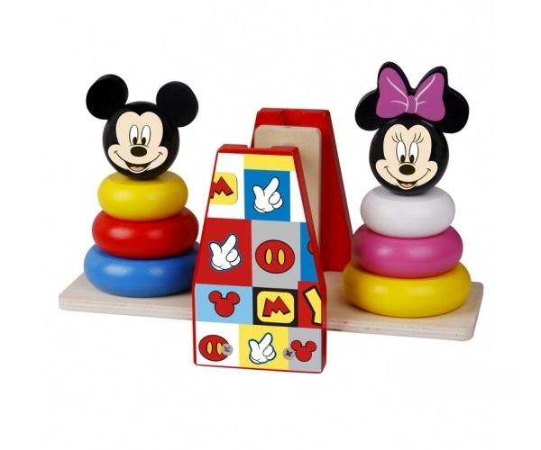 Dřevěná balanční hra Disney, Miceky a Minnie