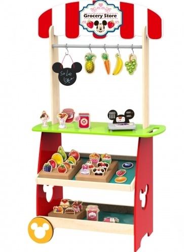 Dřevěný Disney obchod s příslušenstvím Mickey, 60 x 30 x 110 cm