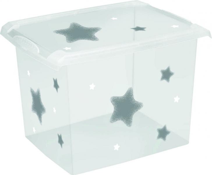 Baby Nellys Box na hračky, dekorační Baby Star 20,5 l
