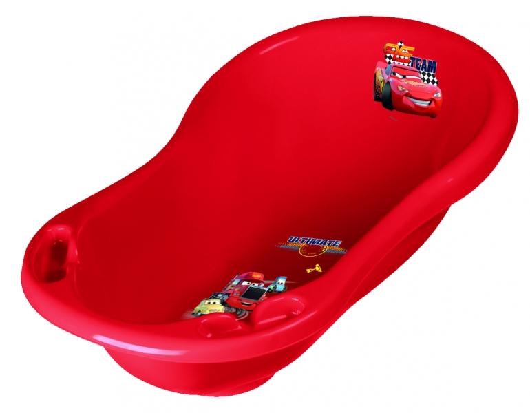 Keeeper Dětská vanička s výpustem - Cars II - červená