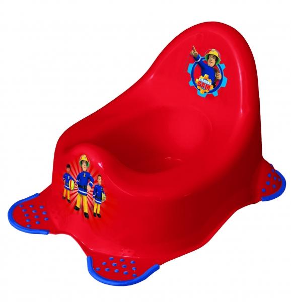 Keeeper Nočník Fireman Sam s protiskluzem - červený