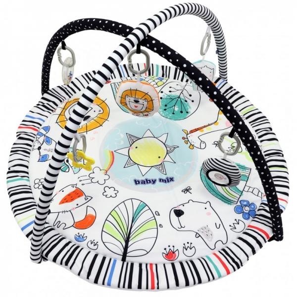 BABY MIX Vzdělávací hrací deka - Paradise