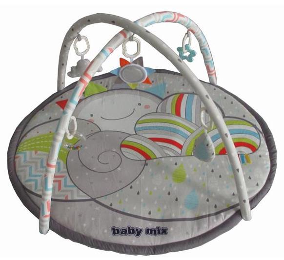 BABY MIX Vzdělávací hrací deka - Mráček